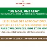 1 Mois 1 Asso accueille LACIM d'Aubervilliers